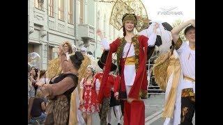 Грандиозный танцевальный карнавал прошёл по Самаре