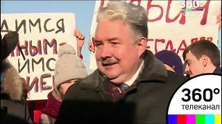 Бабурин встретился в Москве с представителями общественности
