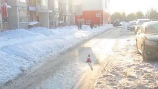 На Ленинградском проспекте в Ярославле автомобиль сбил пешехода