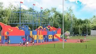 В Ярославле началось благоустройство парка «Нефтяник»
