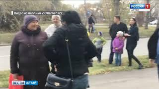 Барнаульцы скинулись на автовышку, чтобы спасти с дерева котёнка