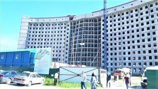 В Нижневартовске строят инфекционный блок новой ОКБ