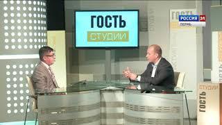 Гость студии Антон Удальев