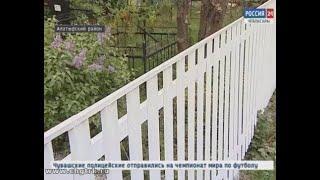В Алатырском районе в рамках инициативного бюджетирования преображаются сельские кладбища
