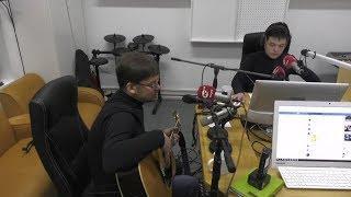 Музыкальный дуэт Верховских из Ханты-Мансийска в гостях на радио «Югра»
