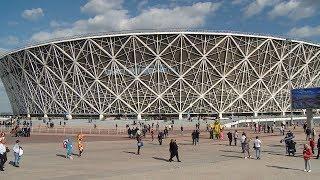 В Волгограде состоялся первый тестовый матч на стадионе к ЧМ-2018