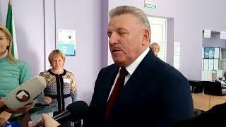 Губернатор Хабаровского края Вячеслав Шпорт голосует в день выборов 9 сентября 2018