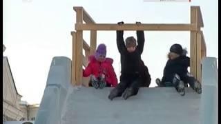 Конец ледяной сказке. Городок на площади Революции демонтируют