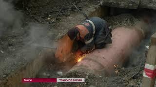 В Октябрьском районе второй раз за неделю остались без горячей воды и отопления
