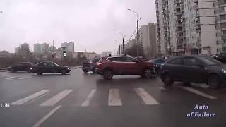 #14 Подборка аварий, снятых на видеорегистратор, ДТП 2018