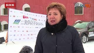 """Надежда Дорофеева -  старт экспедиции """"От Балтики до Арктики"""""""