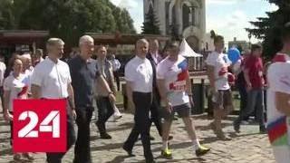 Москва отметила День железнодорожника - Россия 24