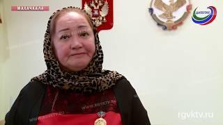 Полпред президента в СКФО передал Орден Мужества матери погибшего военнослужащего