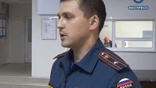 Пензенские пожарные спасли женщину из горящего дома на ул. Курской