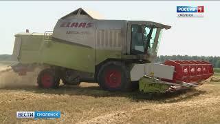 Смоленские аграрии завершают уборку урожая