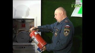 Пожарные проверили насколько безопасны торговые центры в Самаре