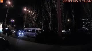 Видео вайбер ДТП и дороги Николаева: момент ДТП у сити в Николаеве