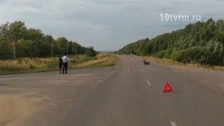 Очередное ДТП с мотоциклистом в Мордовии