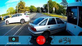 Новая подборка аварий, ДТП, происшествий на дороге, сентябрь 2018 #34