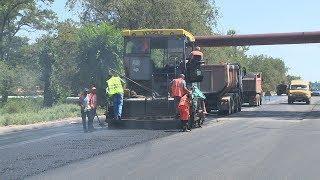 В Волжском завершается ремонт дорог на улицах Кирова и Пушкина