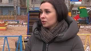 В Кирове сделали спортивную площадку, на которую невозможно попасть(ГТРК Вятка)