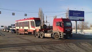 В Волгоград прибыли новые трамваи