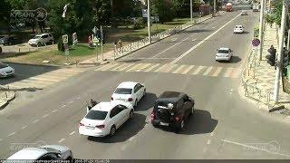 ДТП на ул. Кубанской набережной и ул. Советской 23.07.2018