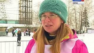 В Кирове прошла лыжная гонка в поддержку детей с синдромом Дауна(ГТРК Вятка)