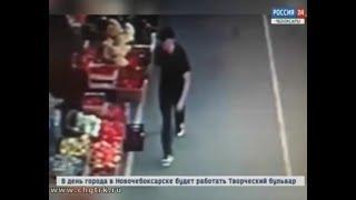Полицейские устанавливают личность мужчины, подозреваемого в совершении мошенничества на одном из р