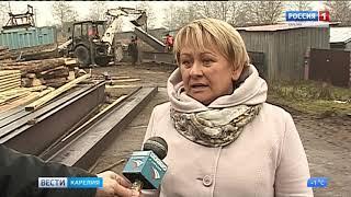 Новая переправа соединит берега реки Туксы в Олонецком районе