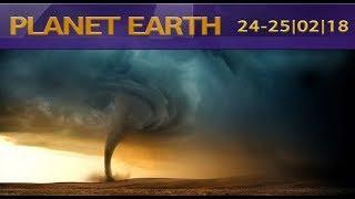 Что произошло и случилось сегодня на земле?  24-25/02/18  What happened today on earth? Посмотрим?