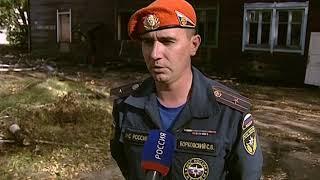 В Ярославле сгорел расселенный дом на Первой Приволжской улице