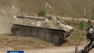 """Бойцы ЮВО провели учения на полигоне """"Дарьял"""""""
