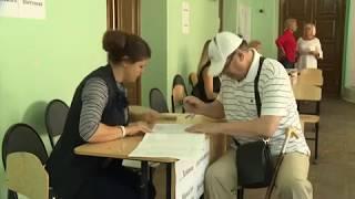 Голосование на выборах в Рязанскую Гордуму