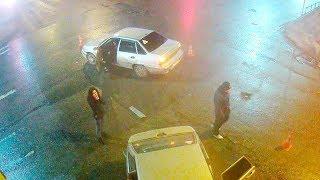 ДТП в Серпухове. Врезался точно в столб... 07 апреля 2018г.