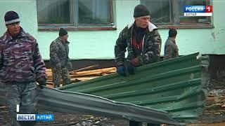 В райцентре Алтайское прошёл сильный ураган