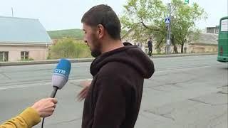 Слетевшее с автомобиля колесо стало причиной ДТП на Окатовой