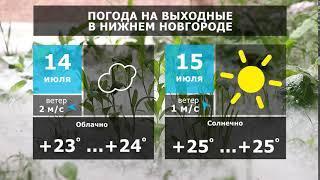 Прогноз погоды. Ливни и грозы растянутся на выходные