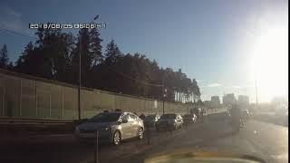 ДТП на Минском в сторону Москвы