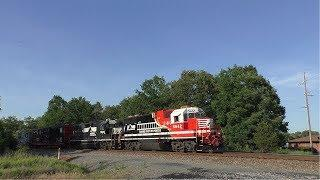 NS 947 6-16-18: Norfolk Southern Training First Responders Safety Train at Manassas, VA