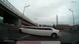 Лимузин-нарушитель в Сочи