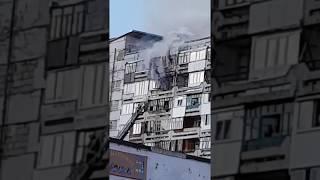В Эжве загорелась квартира в восьмиэтажном доме