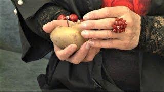 Жительница Нефтеюганска вырастила картошку с гвоздём в «сердце»