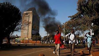 Зимбабвийцы протестуют против результатов выборов