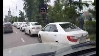 Водителей красноярской мэрии оштрафовали за нарушение ПДД