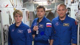 Экипаж Союза МС 11 подготовил видеопоздравление