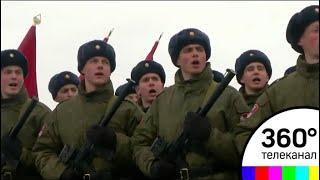 Военнослужащие Отдельной Дивизии уже полным ходом готовятся к параду победы 9 мая