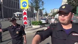 Задержания на митинге против пенсионной реформы и налогового грабежа в Москве/ LIVE 29.07.18