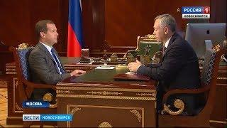 Премьер-министр РФ поддержал планы по строительству новых школ в Новосибирской области