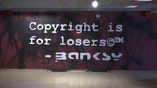 Скандал вокруг Бэнкси: работы художника арестованы в Брюсселе…